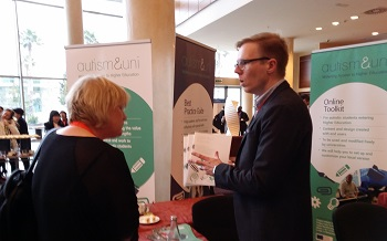 Image: Antti Aavikko introduces the Best Practice Guide to INTED participants. While our workshop attracted a relatively small proportion of the 600 participants, our stand was very busy and we quickly ran out of printed copies of our Best Practice Guide.